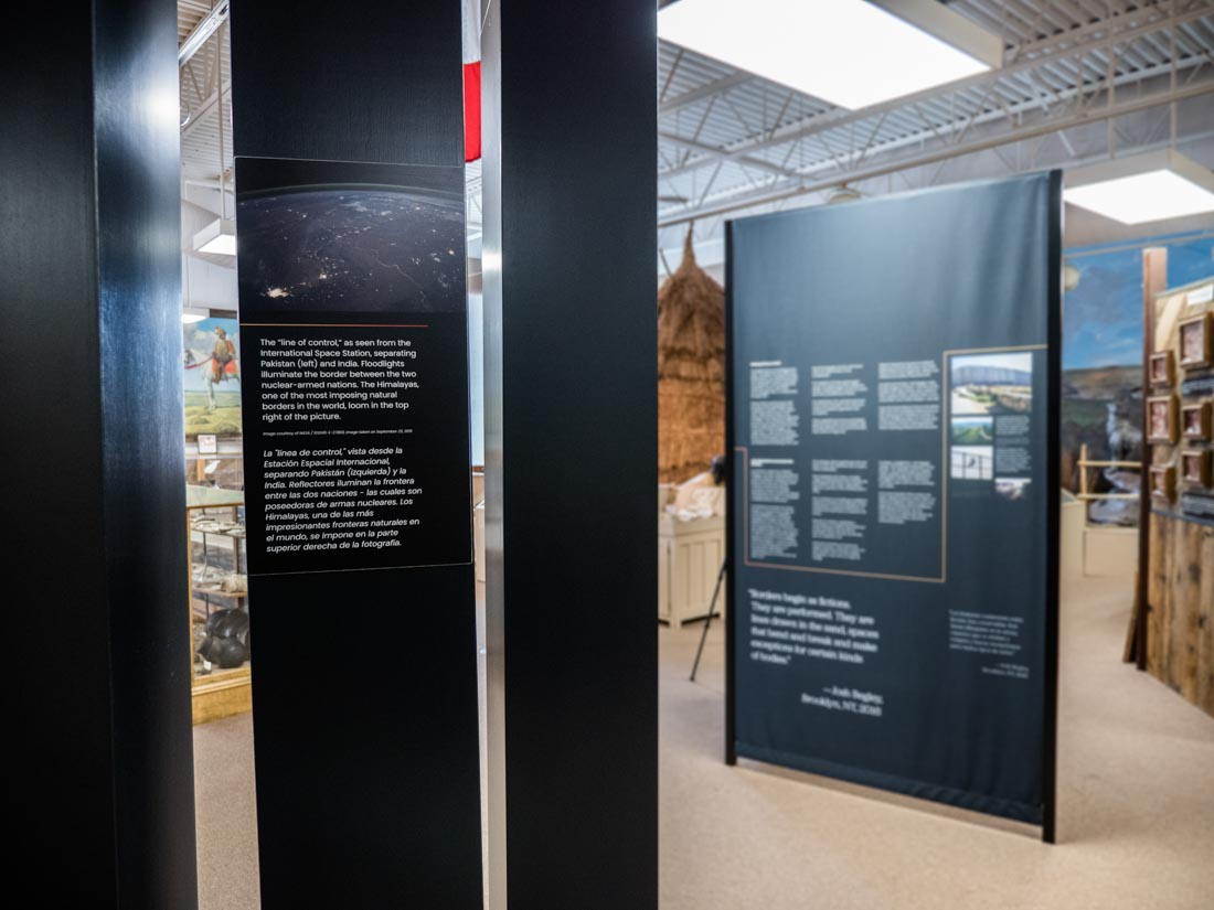 A History of Walls: The Borders We Build traveling exhibit, image 1