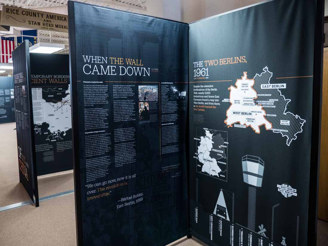 A History of Walls: The Borders We Build traveling exhibit, image 10