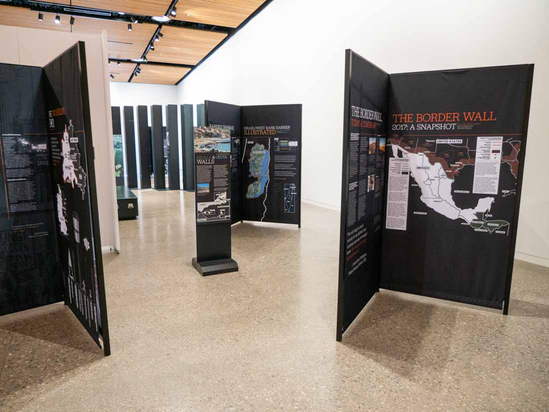 A History of Walls: The Borders We Build traveling exhibit, image 17