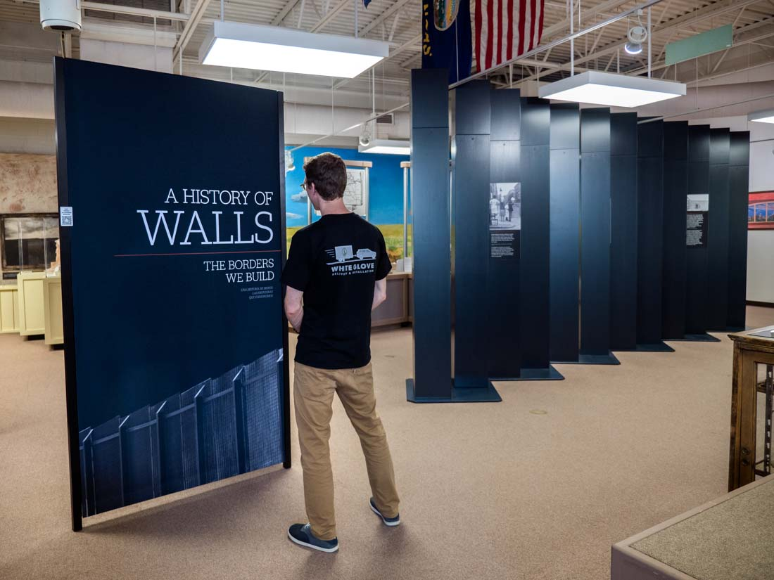 A History of Walls: The Borders We Build traveling exhibit, image 5