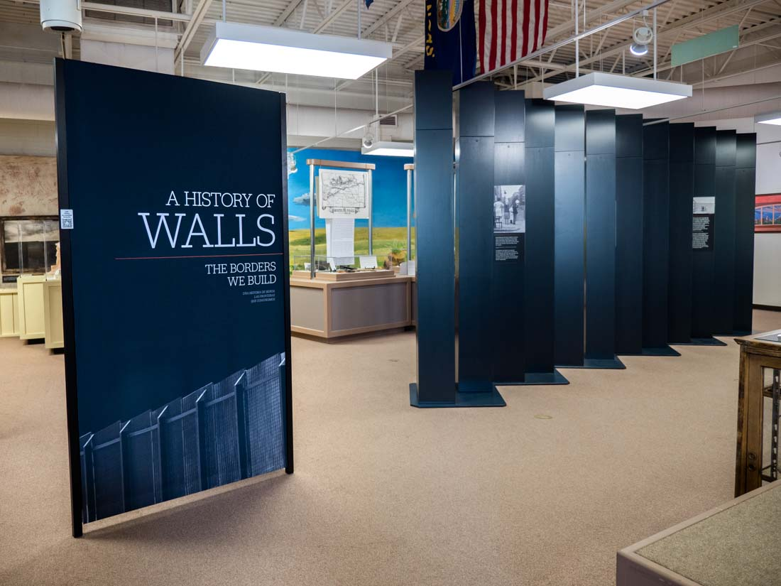 A History of Walls: The Borders We Build traveling exhibit, image 6