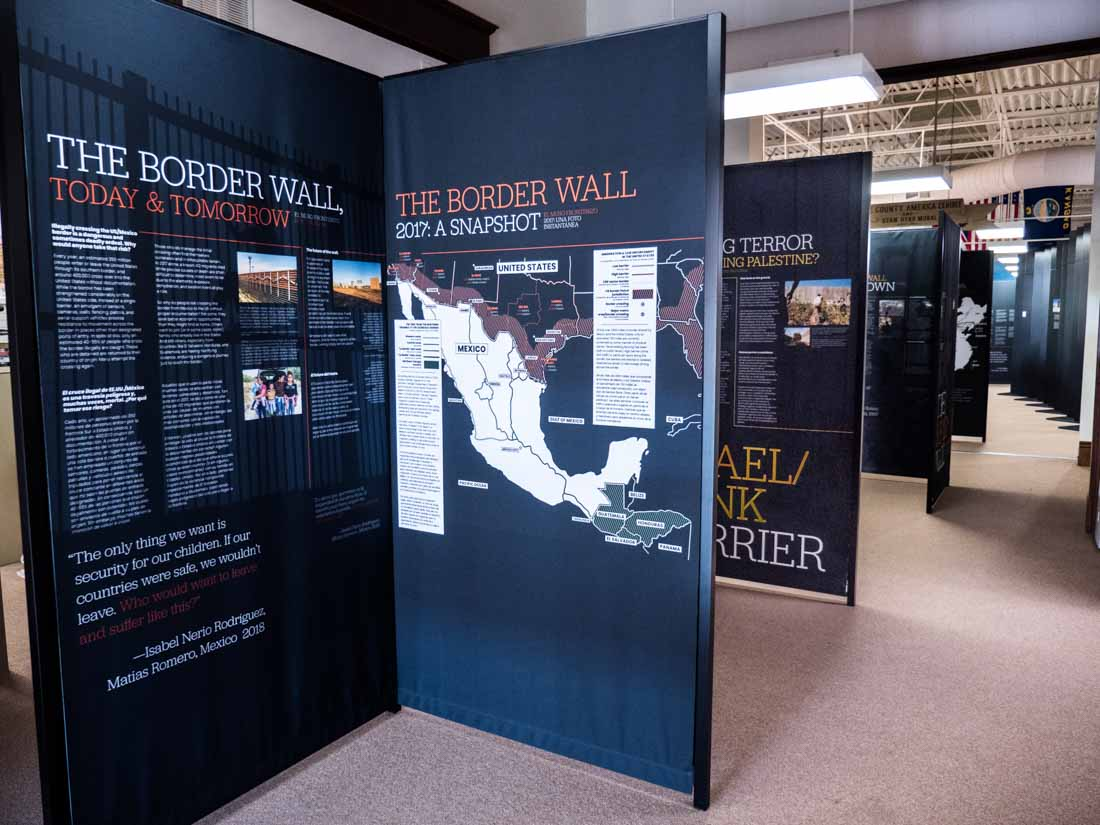 A History of Walls: The Borders We Build traveling exhibit, image 9