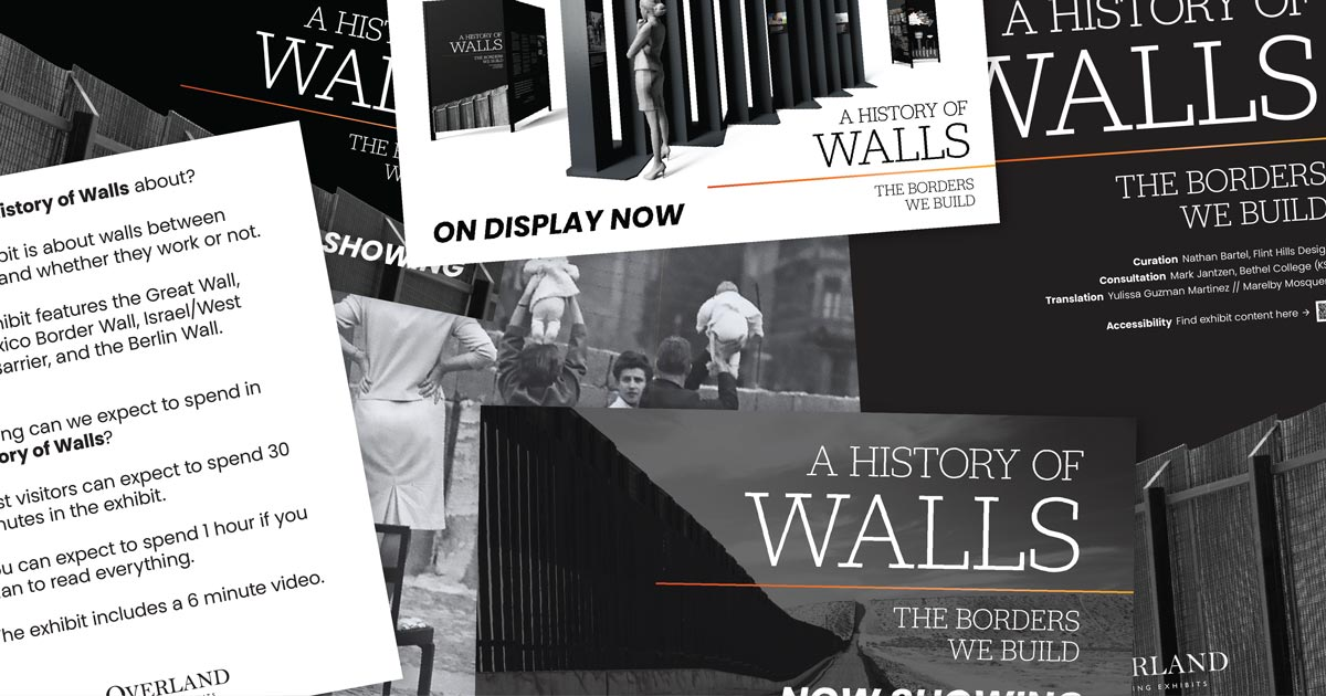 . A History of Walls  The Borders We Build   Overland Traveling Exhibits